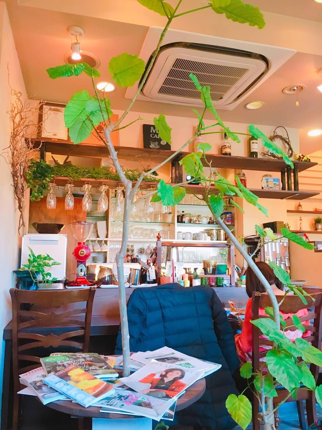 高槻市大畑町にあるアンティーク調のオシャレなカフェ「エムズカフェ M'Scafe」はランチも豪華!