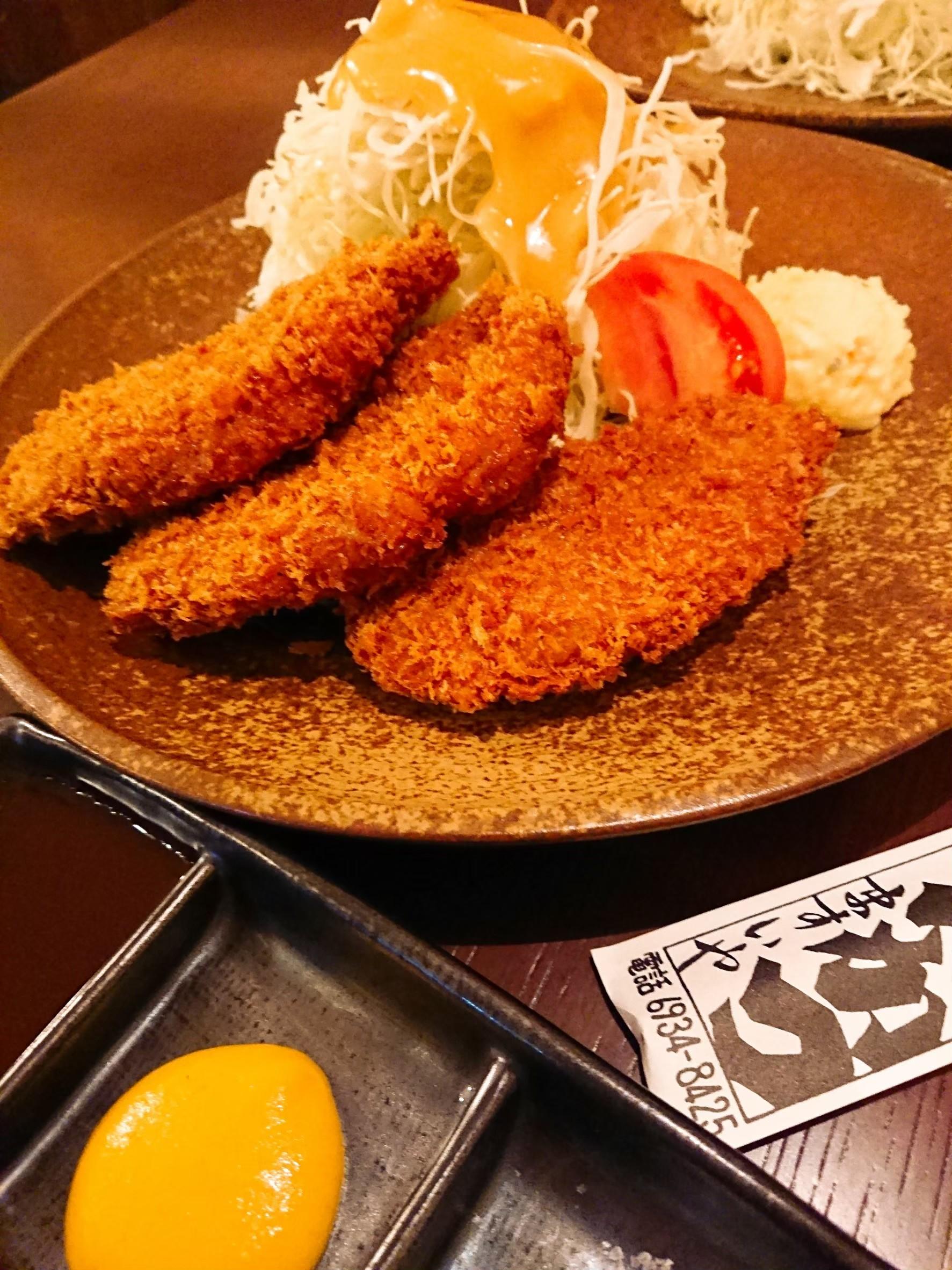 今福鶴見駅「とんかつ屋ますいや」の箸で切れる放牧豚は感動の味