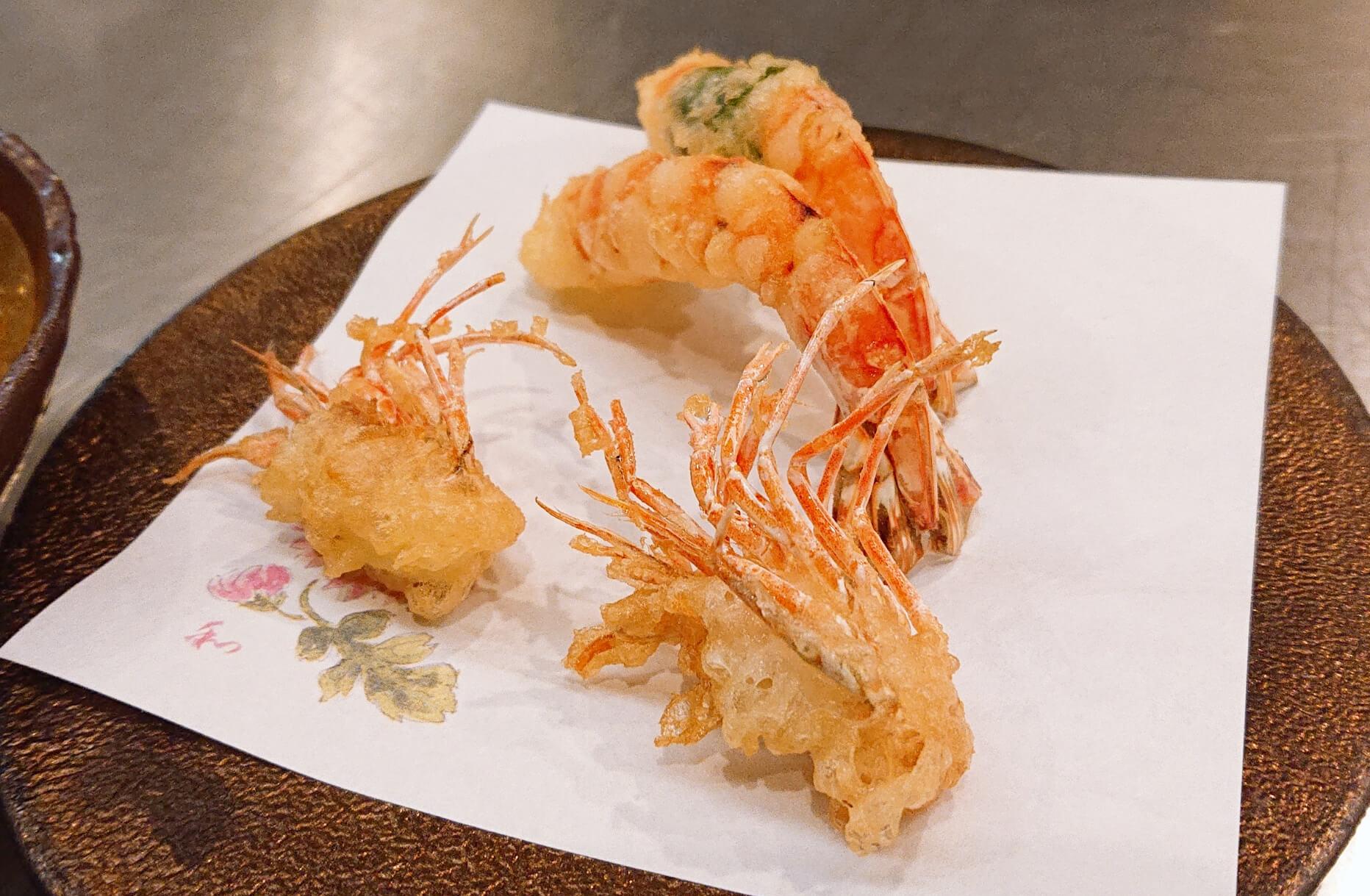 削りたて黒トリュフの卵かけご飯が絶品の北新地「なにわ天ぷら維心」