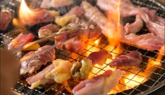 天満駅で焼鳥なら軍鶏地鶏専門店「かしわ屋将軍」卵かけご飯も絶品