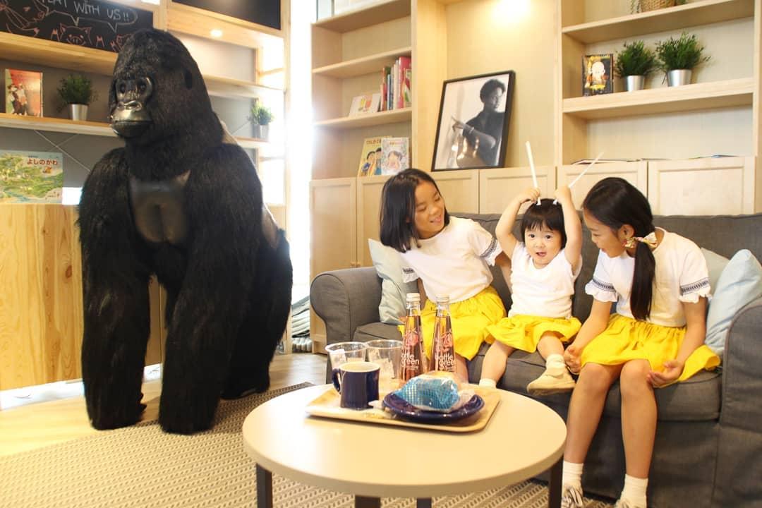 スタジオカフェ・ズーアドベンチャーはママに優しいがコンセプトのカフェ