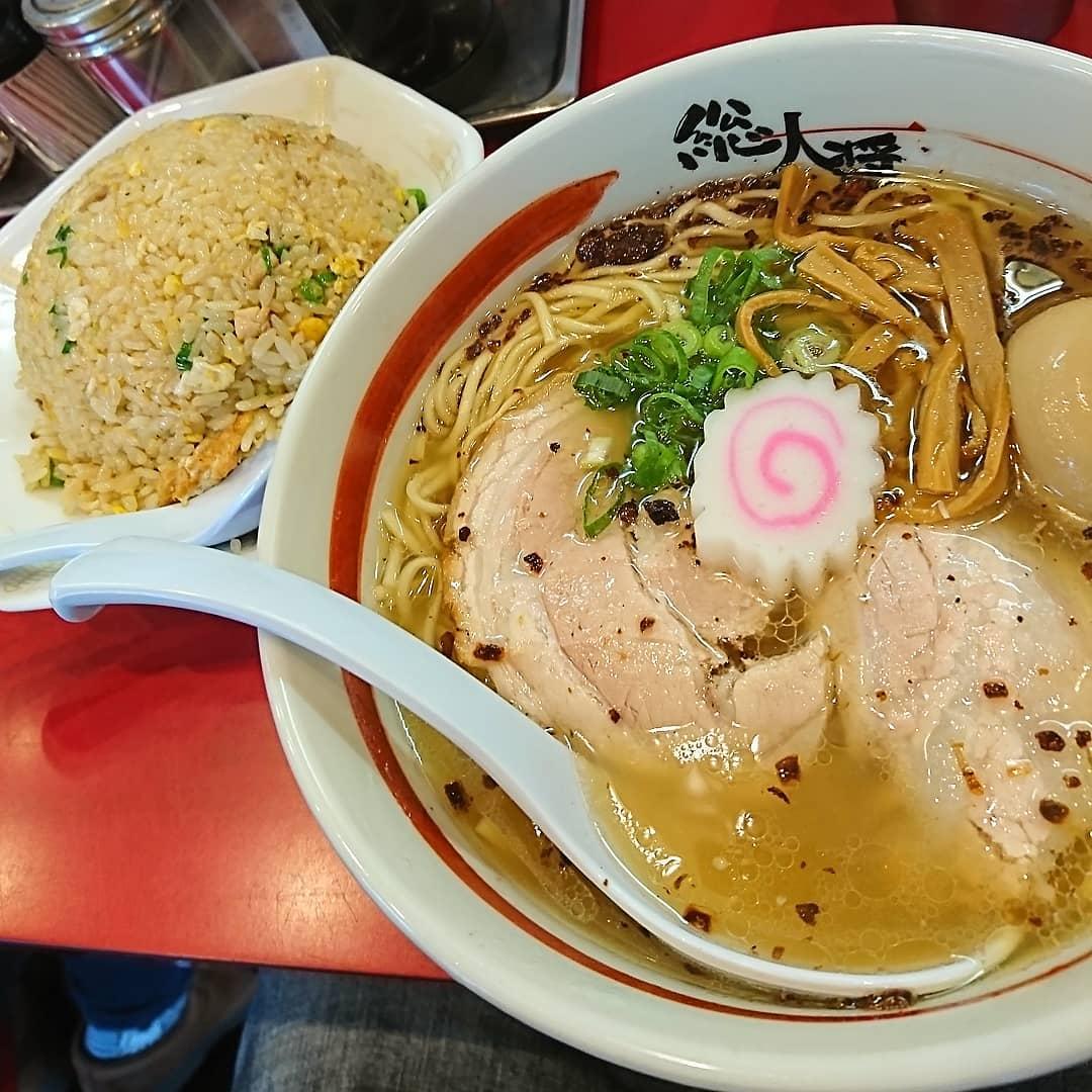 大阪トップクラス「総大醤」の濃厚醤油ラーメンとチャーハンは至高の味
